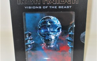 IRON MAIDEN: VISIONS OF THE BEAST 2-DISC