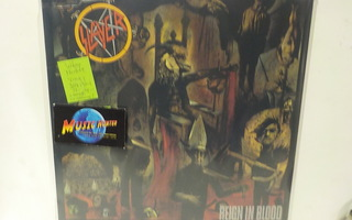 SLAYER - REIGN IN BLOOD M-/M- LP + LIITE
