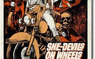 she-devils on wheels(61008)UUSI-GB-BLU-RAY1968