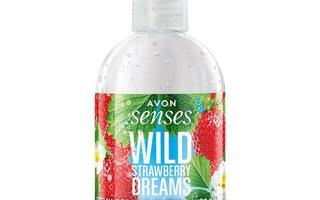 AVON Wild Strawberry Dreams - käsienpesuneste 250ml *UUSI*
