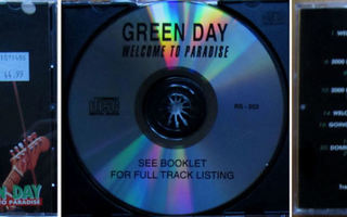 GREEN DAY: Welcome to paradise - CD [ SUPER - RARE]