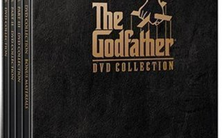 THE GODFATHER - DVD COLLECTION 5-DISC (DVD)