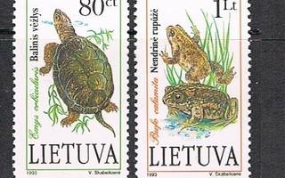 Liettua 1993 - Kilpikonna ja sammakot (2)  ++