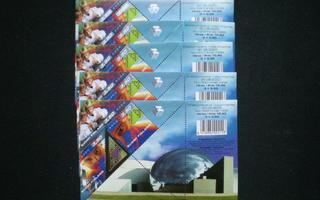 Halvalla erä pienoisarkkeja: 5 kpl BL25 - LaPe 50 €