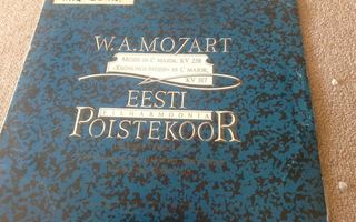 W. A. Mozart : The State Symphony Orchestra Of The ESSR  lp