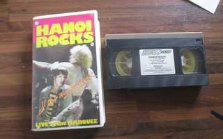 HANOI ROCKS all those wasted years VHS video !!