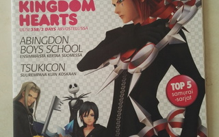 Anime lehti 40, 8/2009, Kingdom Hearts, Abingdon Boys..