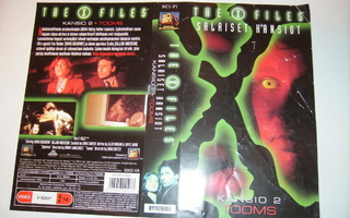 Vhs kansipaperi Fix - THE X FILES SALAISET KANSIOT
