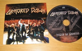 Armored Dawn - Power of Warrior cd