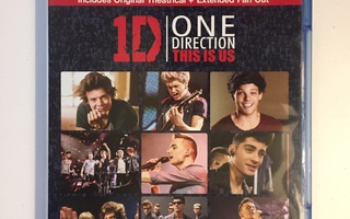 One Direction: This Is Us (Blu-ray) Niall Horan, Zayn Malik