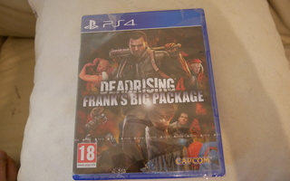 Ps4: Dead Rising 4 (Frank's Big Package)