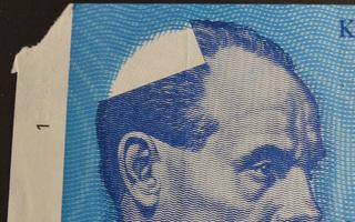 10 Markkaa 1986, leikkausvirhe