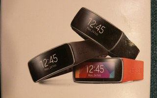 Samsung Gear Fit hihna Large Musta