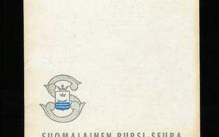 SUOMALAINEN PURSI-SEURA VUOSIKIRJA 1975 UUSI-