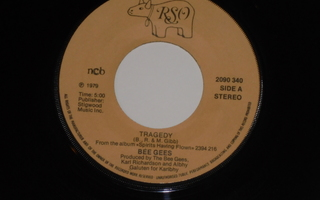"""7"""" BEE GEES - Tragedy - single 1979 disco EX"""