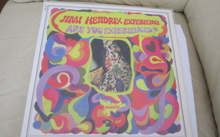 Hendrix LP FRA 2009 Are You Experienced? Clear Vinyl