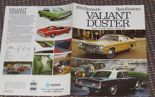 1974 Plymouth Valiant / Duster / Duster 360 / Scamp esite