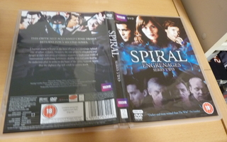Spiral Engrenages - Series Two ( BBC ) 2 x dvd