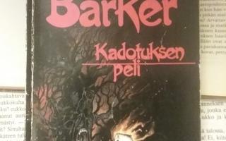 Clive Barker - Kadotuksen peli (nid.)