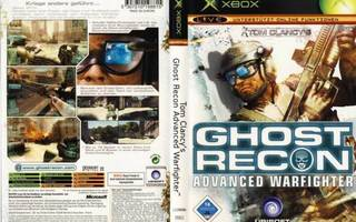 TOM CLANCY GHOST RECON ADVANCED WARFIGHTER  ( XBOX )  6907