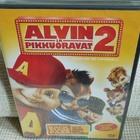 Alvin Ja Pikkuoravat 2 (muoveissa) DVD osastossa Lastenelokuvat