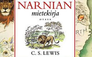 NARNIAN MIETEKIRJA ; C. S. Lewis. 3p SKP  UUS-