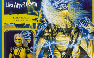 Iron Maiden ReAction  Live after death  - HEAD HUNTER STORE.