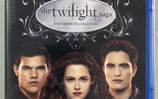 The Twilight Saga : The Complete Collection - Blu-ray (uusi)