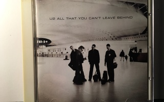 U2: All That You Can't Leave Behind, CD
