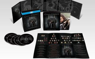 Game of Thrones season 1–7 • 7 × Ltd Digipak Box • 37×BD
