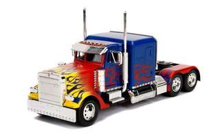 TRANSFORMERS OPTIMUS PRIME TRUCK 28CM	(63 912)	see robot on