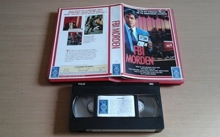 In the Line of Duty: The F.B.I. Murders - SW VHS Nordic Film