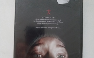 DVD THE BLAIR WITCH PROJECT (UUSI!!)  Sis.postikulut