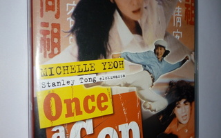 DVD) Once a Cop (1993) Michelle Yeoh ja Jackie Chan.