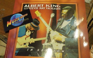 ALBERT KING STEVIE RAY VAUGHAN IN SESSION KITARA NUOTIT UUSI