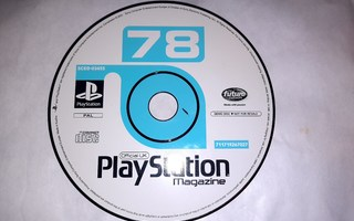 PS1 Official UK 78 PlayStation magazine demo