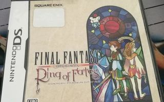 DS: Final Fantasy: Ring of Fates (JAPANI)