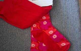 Marimekon unikko sukkahousut koko 128 -134cm