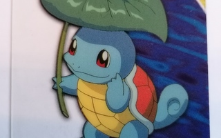 Pokemon topps #07 Squirtle