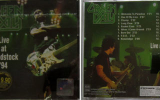 GREEN DAY: Live in Woodstock no: 3 - CD  [Malaysian Edit.]