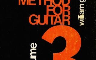 A MODERN METHOD FOR GUITAR Volume 3 William Levitt nid H+++