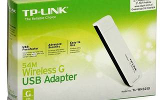 TP-Link TL-WN321G 54Mbps Wireless USB 2.0 Adapter