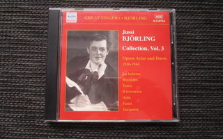 Jussi Björling - Great Singers Collection Vol. 3 - CD