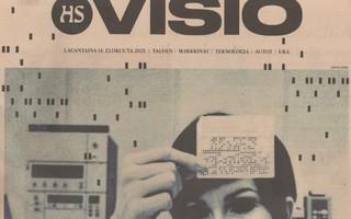 HS VISIO  3kpl heinä-elokuu 2021