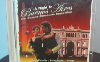 Various – A Night In Buenos Aires 2xCD