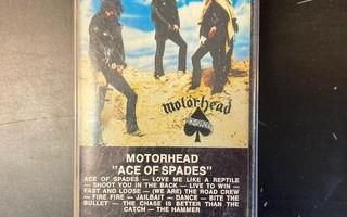 Motörhead - Ace Of Spades (SWE/TC-531/1980) C-kasetti