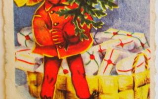 Pikkukortti Tonttu ja lahjat