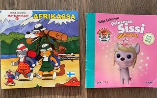 Minikirjat: Miina ja Manu Afrikassa & Prinsessa Sissi...
