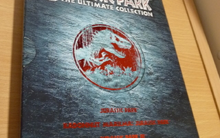 Jurassic Park The Ultimate Collection   ( 4 x dvd )