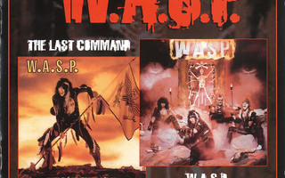W.A.S.P. - WASP & The Last Command (2CD) NEAR MINT!!